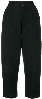 Yves Saint Laurent Pre Owned Cropped Trousers