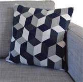 Sophie Home Tumbling Blocks Cotton Knit Cushion: Three Colourways