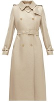 Max Mara Haven Trench Coat - Womens - Gold