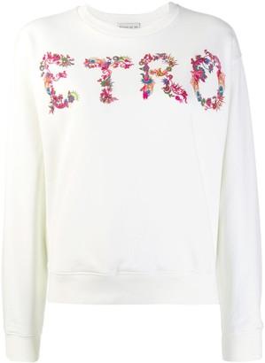 Etro Paisley Logo Print Sweatshirt