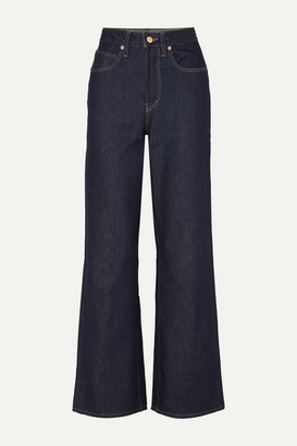 KING & TUCKFIELD Kathleen High-rise Wide-leg Jeans - Indigo