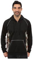 Roper Solid Black Bonded Fleece Pieced w/ Camo