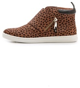 Rebecca Minkoff Deacon Haircalf Zip Sneakers