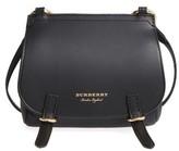 Burberry Bridle Leather Shoulder Bag - Black