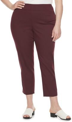Croft & Barrow Plus Size Ankle Pants