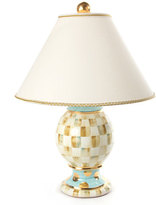 Mackenzie Childs MacKenzie-Childs Parchment Check Medium Globe Lamp