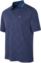 Greg Norman For Tasso Elba Men's Grid Jacquard Performance Polo, Only at Macy's