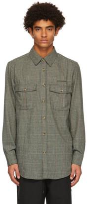 Han Kjobenhavn Khaki Check Garden Shirt