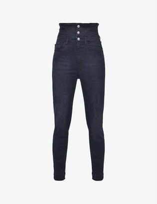 Pinko Suzie skinny high-rise stretch-denim jeans