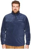 Columbia Big Tall Steens Mountaintm 1/2 Zip (Collegiate Navy) Men's Sweatshirt