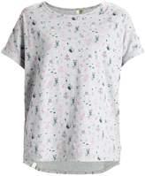 Ragwear TRIBE B ORGANIC Print Tshirt light grey melange