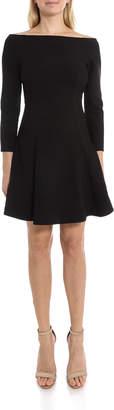 LIKELY Meghan Off-Shoulder Fit-&-Flare Cocktail Dress