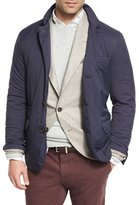 Brunello Cucinelli Nylon Padded Sport Jacket