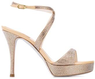 Rene Caovilla Krisabrita embellished sandals