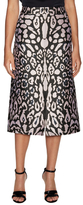 Temperley London Vyvyan Print Midi Skirt