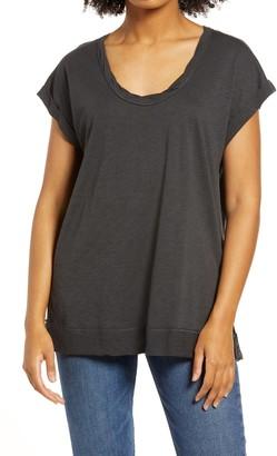 La La Land Creative Co Twist Neck T-Shirt
