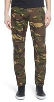 G Star Men's Elwood X25 Woodland Slim Fit Camo Pants