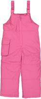 London Fog Pink Bib Pants - Toddler & Girls