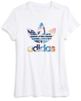 adidas Girl's Classic Graphic Tee