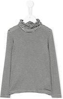 Simonetta roll neck striped top