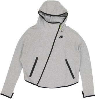 Nike Grey Cotton Jackets