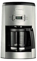 De'Longhi Delonghi 10 Cup Glass Carafe Drip Coffee Maker- Black