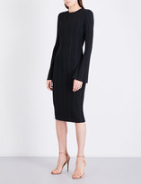 KENDALL + KYLIE KENDALL & KYLIE Ribbed stretch-knit dress