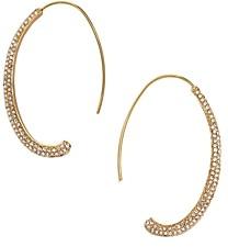 BaubleBar Orion Threader Hoop Earrings