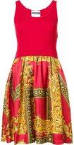 Moschino baroque frame dress - women - Virgin Wool - 40