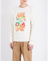 Stella Mccartney Nice One Cotton-jersey Sweatshirt