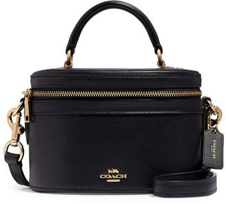 Coach Trail Leather Top Handle Bag