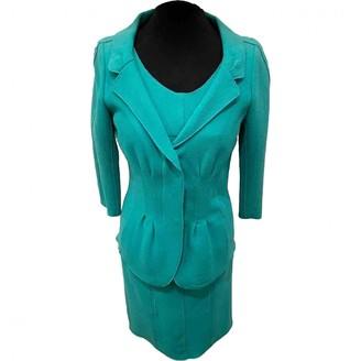 Nina Ricci Turquoise Wool Knitwear for Women Vintage