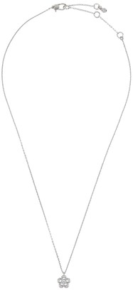 Kate Spade Jewelled Scallops silver-tone necklace