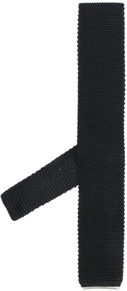 Brunello Cucinelli Knit Silk Tie