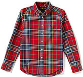 Ralph Lauren Big Boys 8-20 Plaid Poplin Shirt