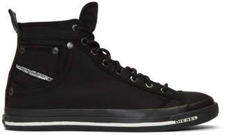 Diesel Black Exposure I Sneakers
