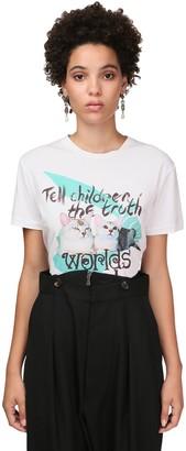 Vivienne Westwood Cat Print Organic Cotton Jersey T-shirt
