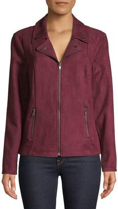 Style&Co. Style & Co. Faux Suede Jacket