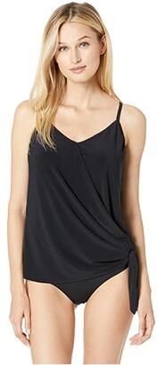 Magicsuit Solid Alex Tankini (Black) Women's Swimwear