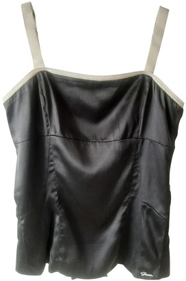 GUESS Anthracite Silk Top for Women