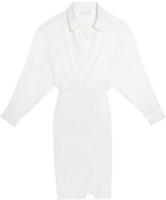 Fenty by Rihanna Satin shirt dress