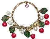 Gucci Cherry statement necklace
