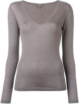N.Peal superfine V-neck jumper - women - Cashmere - XS