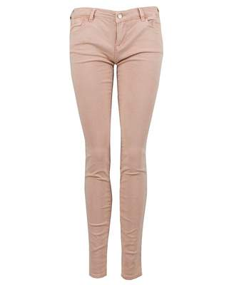 Emporio Armani Cropped Mid Rise Jeans Colour: NUDE, Size: 25R