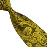 Lookatool New Silk Classic Paisley Mix Color JACQUARD WOVEN Silk Men's Tie Necktie