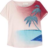 Faith Connexion Printed cotton-jersey T-shirt