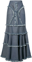 Andrew Gn long skirt - women - Cotton - 6