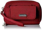 Baggallini Rfid Wallet Wristlet Scarlet