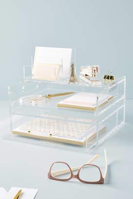 Russell + Hazel Russell+Hazel Acrylic Bloc Collection Desk Storage