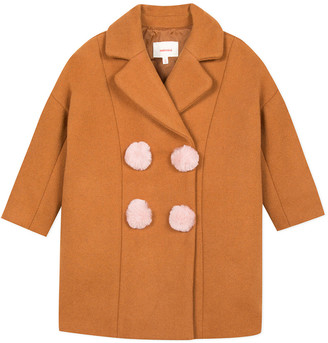 Catimini Wool-Blend Coat
